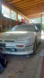 Nissan 240sx (barn find) relisted due to time waster