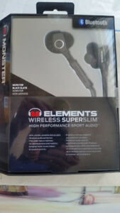 Brand New Bluetooth earphones, in a sealed box, for sale