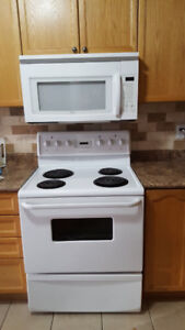 30 inch white whirlpool microwave over the range for sale