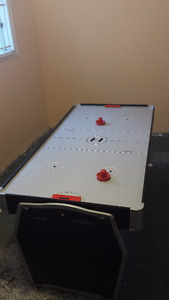 Family games table: air hockey, pool, pingpong (used)