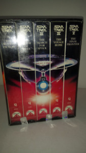 """New Star Trek """"The Movies 25th Anniversary Collection Sealed"""" 5"""