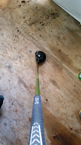 RH Ping G10 driver upgraded shaft droitier