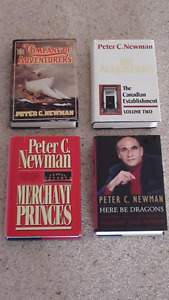 4 Peter C. Newman Books for sale