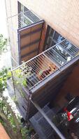 fer forge,terrace,mezzanine,mobilier,rampes, protecteurs,ecrans