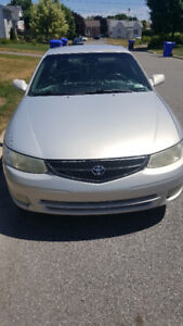 Toyota Solara 2001 going to the scrapyard in one week BEST OFFER