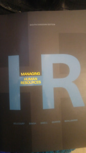 Managing Human Resources Text Book