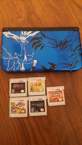 Pokemon X&Y 3ds xl blue edition with games