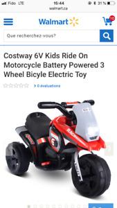 Motocyclette/auto électrique enfant NEUVE dans boîte