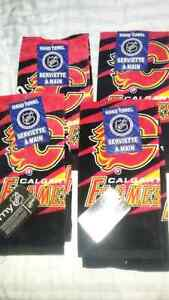 Hand Towels - Calgary Flames