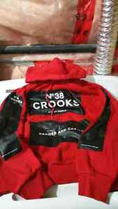 Crooks and castles hoodie sweater size L Kitchener / Waterloo Kitchener Area image 1