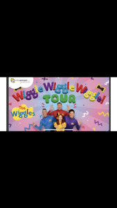 The wiggles 3 tickets Peterborough show