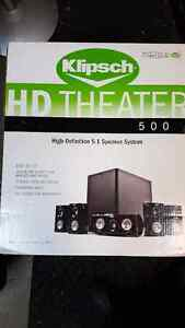 Klipsch HD THEATER 500 HOME THEATER SYSTEM 5.1 Speakers
