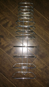 MUST GO!!!Chrome hotel style wall mount towel rack $10 takes