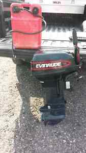 1993 15hp evinrude in mint shape