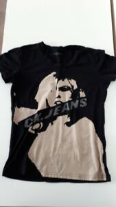 Calvin Klein Black Graphic T-Shirt - Size Small (like New)
