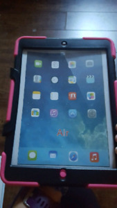 Pink iPad air case brand new never used