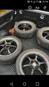 Konig rims and tires 215/50/17