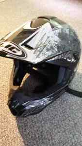 HJC open faced helmet