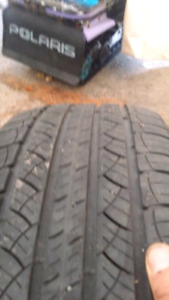 Two P 245 50 R20 Tires