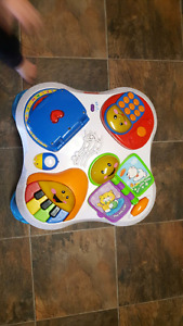 Fisher price puppy and friends activity table
