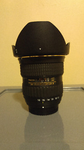 Tokina 11-16mm f/2.8 AT-X116 Pro DX II For Nikon