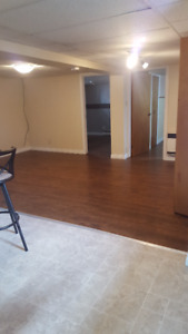 Two Bedroom Basement Apt. on Commercial