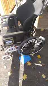 Wheelchair in excellent condition.