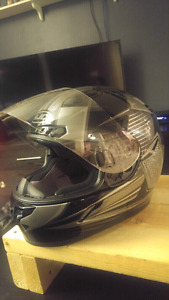 HJC (CL-17) motorcycle helmet