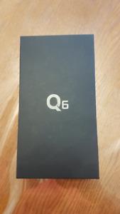 Brand New Unlocked LG Q6 Black
