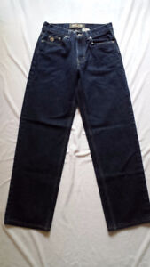 TWO PAIR ROOTS JEANS