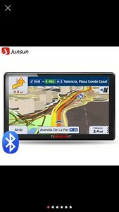 7 inch car gps navigation and Bluetooth