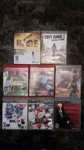 PS3 GAMES FOR $5
