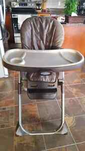 Baby high chair from graco