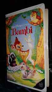 Walt Disney VHS Black Diamond Rare Edition Bambi