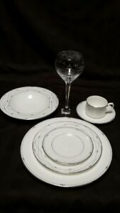 Royal Doulton Precious Platinum place settings