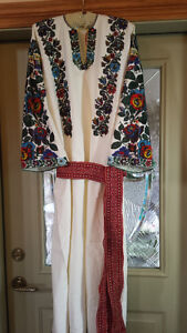From the Ukraine, Hand Beaded, Costume/party dress