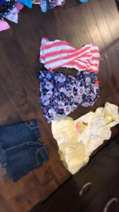 Size 10/12 Girls Sunmer Clothes Lot