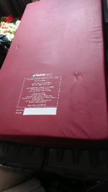 Child's tempur med memory foam mattress UNUSED