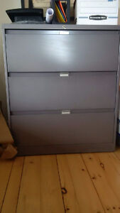 Filing cabinets - $50 each - Excellent condition