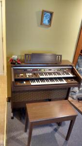 Piano orgue keyboard electrique Yamaha Electone