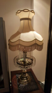 A Pair of Antique Lamps