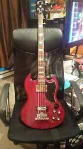 Epiphone EB-0 Bass Guitar - Mint Condition!