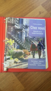 Chez Nous 3e ed. Canadienne Textbook and Student activity manual