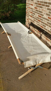 Antique US Army cot