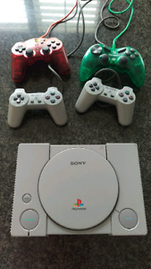 Original Modded Playstation console - works great