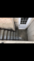 EGRESS WINDOW CONCRETE WINDOW CUTTING SEPARATE ENTRANCE w/permit