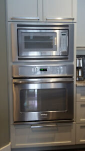 Wall Oven , Microwave, Dishwasher