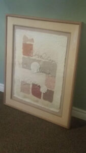 Framed Shell Picture
