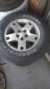 Tire and rims Ford Escape