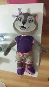 "16"" Violet Plush Doll from Great Wolf Lodge"